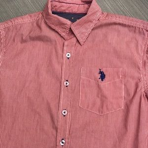 Boy's US Polo Button Down Shirt